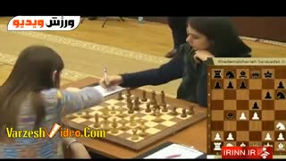 Iranian Female chess player in Russia - Video