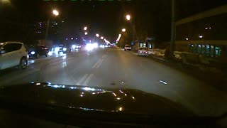 Mistaken Turn Lane or Loss Of Control? - Video