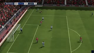 Manchester United vs Liverpool - Premier League - Simulation FIFA EA - Video
