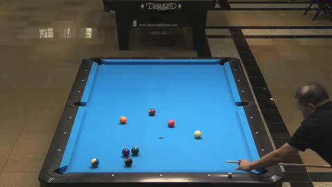 Efren Reyes finished 10 Ball Clearly!