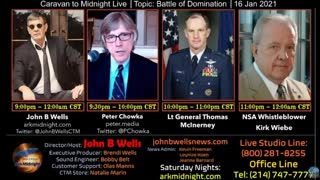 interview John B Wells 1-16-21, Lt General McInerney discussed Mike Lindell's meeting with POTUS.