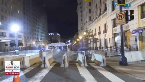 RSB Reporter Shows LOCKDOWN Washington DC Checkpoints