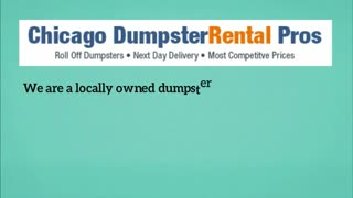 dumpster rental chicago - Video