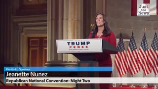 Republican National Convention, Florida Lt. Governor Jeanette Nunez Full Remarks