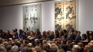 Christie's shatters art world record with biggest sale ever - Video