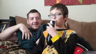 Dad Plays Clever Remote Control Prank On Son - Video