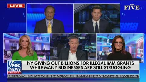 Greg Gutfeld weighs in on NY payments to illegal immigrants
