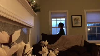 Mom Pranks Son To Think That He's Blind - Video