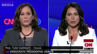 Tulsi Gabbard destroys Kamala Harris in Dem debate