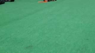 9 year old Cam work on Catching