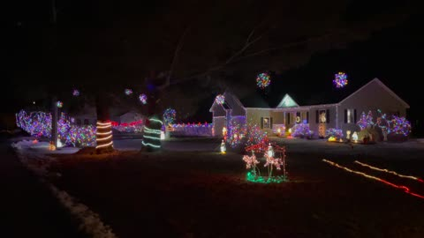 Christmas Lights In Concord NH 2020, Part 2