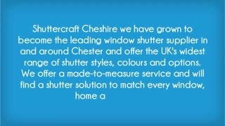 Shuttercraft Cheshire - Video