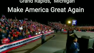 Grand Rapids, Michigan - President Trump MAGA Peaceful Protest Rally 11-02-2020