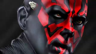 Maul digital paintin