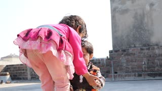 kiss of brother and sister Really lovely relation  - Video