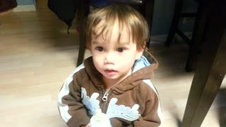 PRANK - Baby gets pranked with - Video