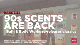 90s Scents Are Back | Rare Life - Video
