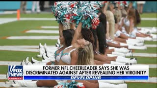 Former Miami Dolphins cheerleader accuses NFL of discrimination because she is a Christian - Video