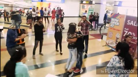 Beautiful Flash Mob Turns Into A Romantic Marriage Proposal