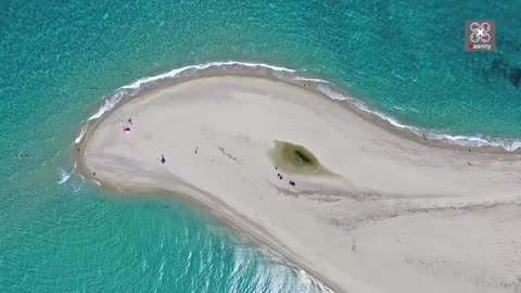 Possidi: The majestic sandbank of Halkidiki, Greece
