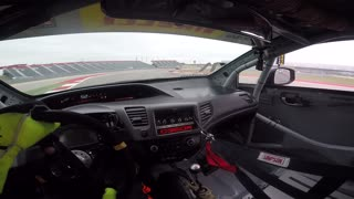 Paul Holton Pirelli World Challenge COTA 2015 Race 2 - Video