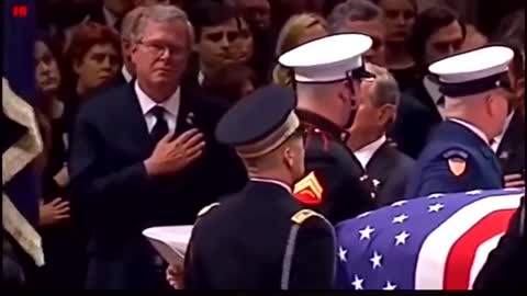Never forget the Bush Sr. funeral envelopes