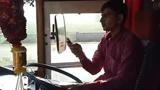bus driving  - Video