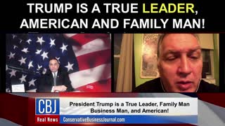 Trump is A TRUE Leader, American, and Family Man!