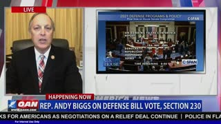 Congressman Biggs joins OAN to discuss the AZ Supreme Court Voter Fraud Ruling and the NDAA