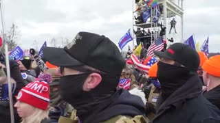 Trump supporters storm the Capitol - PATRIOTIC FRONT