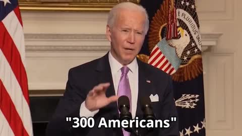 600 Million doses are enough for 300 Americans
