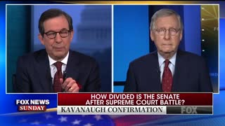 """Chris Wallace harangues Mitch McConnell about """"Garland standard."""""""