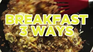 3 Ways to Spice Up Your Breakfast - Full Step-by-Step Video Recipes - Video