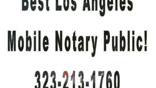 Pasadena Mobile Notary - Video