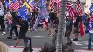 Beverly Hills California. Red Wave