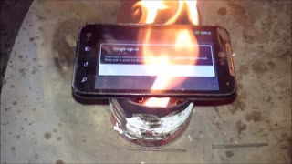 Smartphone Explodes Like A Bomb - Video