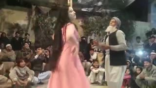 Old Man Dance with Beautiful Girl Funny Video  - Video
