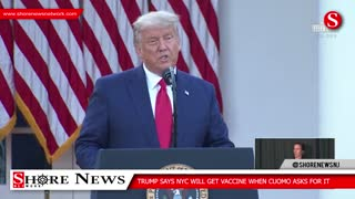 Trump Says No Vaccine For New York Because Cuomo Said No