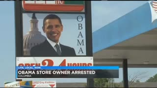 Owner of 'Obama Gas Station' Charged With Tax Evasion - Video