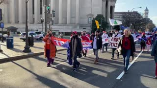Chinese American Alliance for Trump Rally -3 12/12/2020