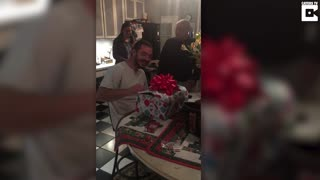 Marine Veteran Gets Christmas Puppy Surprise - Video