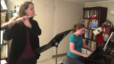 Christmas Flute and Piano Tunes