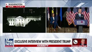 Trump says if Biden wins, US will become a '9th-world country' on 'Hannity'