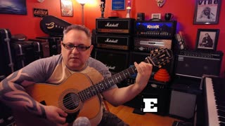 Acoustic Guitar Lesson - Love So Right by Bee Gees