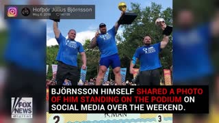 'Game of Thrones' 'The Mountain' named World's Strongest Man