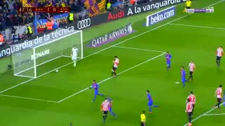 Gol de Neymar vs Bilbao - Video