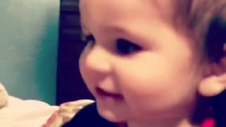 Incredibly smart 2-year-old knows how to read