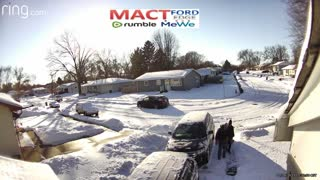 MACT cleaning up after the snow storm Jan 2021