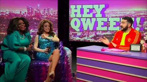 Hey Qween! BONUS: Morgan McMicheals and Mayhem Miller BEST DRAG FRIENDS