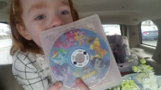 Little Girl Is So Excited About Her New Movie